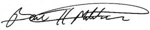 Bart Mitchell signature